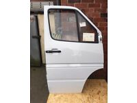 Mercedes sprinter doors NOS! 1995 / 2006 fit MK1 & Mk2 cabs
