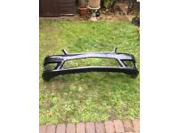 Mercedes C class 2012 Genuine Front bumper in good condition