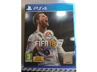 Fifa 18 ps4 game playstation 4
