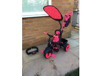 Little Tikes bright pink bike