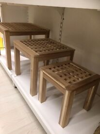 Brand new IKEA Nest of Tables (set of 3 tables) in Original Packaging