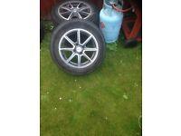 3 x Vauxhall alloys