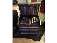 superline pro stainless toolbox with tools