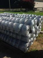 Wholesale farm fencing:  Page wire, barbed wire, no climb.