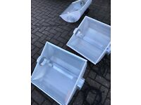 """Cheshunt Hydroponics Store - used 6"""" air cooled grow light shades"""