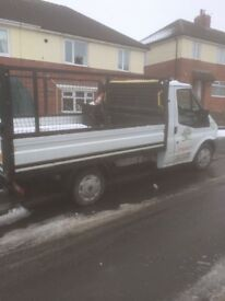 Ford transit 115 T300s FWD dropside pickup