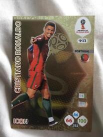 Cristiano Ronaldo 2018 WC Card