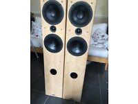Tannoy F4 Custom Floor Standing Speakers