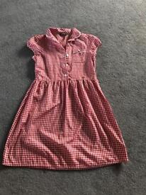 School Dress Age 7-8