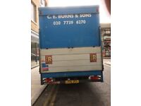 Ford Iveco 7.5 tonne Lorry
