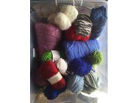 Misc. balls of yarn