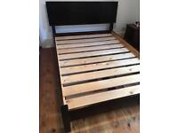 Warren Evans Solid Timber Quaker Style Bed with Storage
