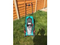 Bosch rotak 43 lithium-Ion ergoflex cordless rotary lawn mower 18 months old vgc buyer collects