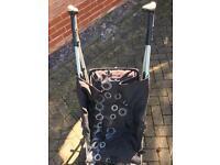 Silver cross pop pushchair buggy.