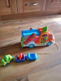 Vtech pull n learn car carrier truck
