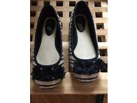 Lovely girls pumps size 11 worn once