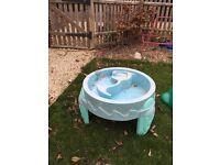 Toddler water sand pit