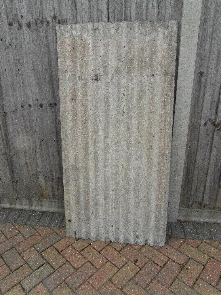 Qty 8 5ft X 29 5 Inch Asbestos Roofing Sheets Collect