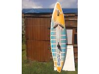 Surf board for sale with sail