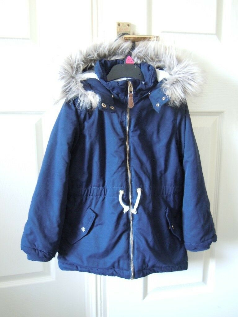 9608912f6 H M Girls winter jacket 7-8 years old