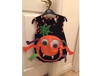 Childs Spider Halloween Costume Age 3-4 years