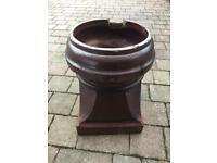 Chimney pot / garden planter.