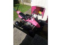 Kids mini moto pink