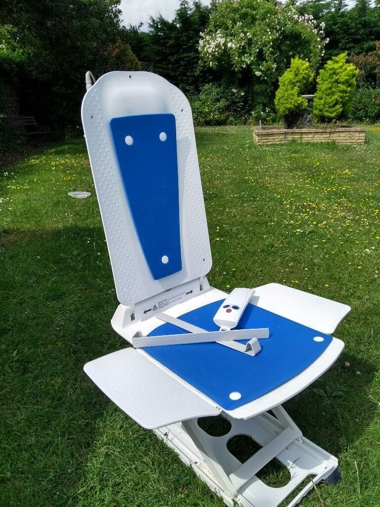 Electric reclining bath lift seat with remote and charger for ...
