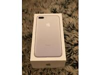 New IPhone 7 Plus 128Gb Unlocked Fully Boxed