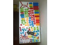 Huge collection of Stickle bricks and Bristle blocks - 144 pieces!