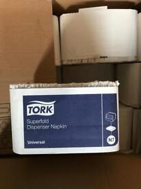 Tork Dispenser Napkins