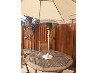 Gas table top garden heater