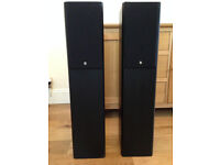 Kef Cresta 30 floorstanding speakers - black veneer finish