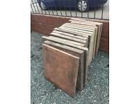 Assorted paving stones