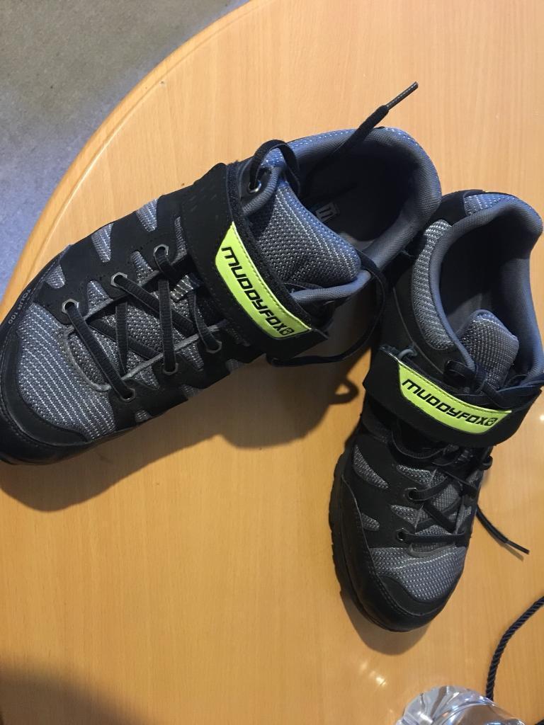 Muddyfox 100 tour cycling shoes size 11