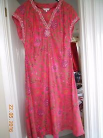 Silk dress from East, size 18