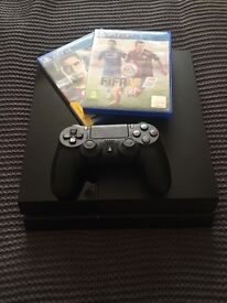 PS4 500gb With Pad & Games