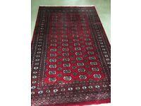 John Lewis Handmade Pakistan Bokhara Rug, Red