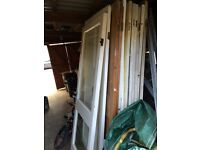 A variety of Victorian doors for sale