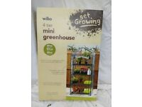 Wilko 4 tier mini. greenhouse.