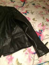 Ladies Size 12 leather jacket