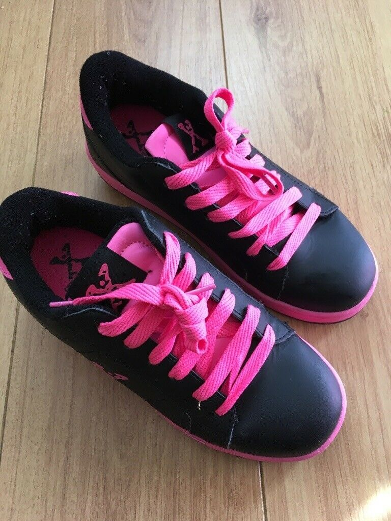 shoes with wheels for girls sports direct 35b76248