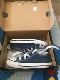 Toddlers blue converse