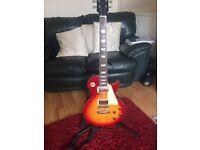 Tokai love rock electric guitar - sunburst - Excellent condition - £175