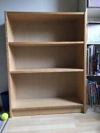 Ikea billy oak veneer bookcase