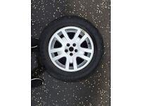 "Land Rover Freelander 2 spare wheel / alloy 17"" inch"