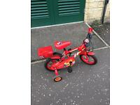 Kids bike , Fireman Sam