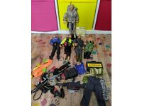 Action man and GI Joe bundle with accessories