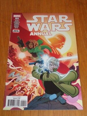 STAR WARS ANNUAL #4 MARVEL COMICS JULY 2018 VF (8.0)