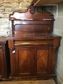 Neat Victorian mahogany sideboard